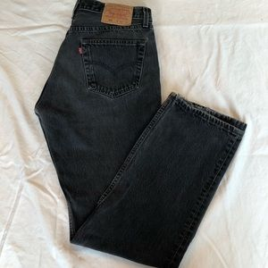 Levi's 501 jeans high waisted mom jean fit